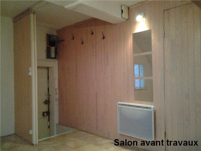 salon avant travaux