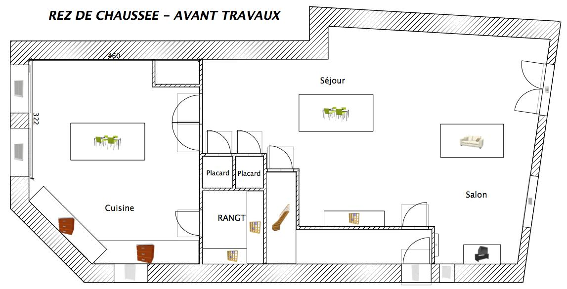R novation maison c t de la facult de rennes 1 for Maison avant apres travaux