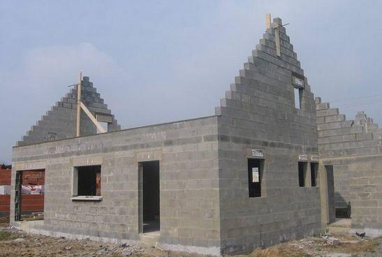 Le gros oeuvre d 39 une maison individuelle - Construire sa maison prix gros oeuvre ...