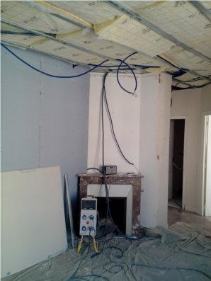 chantier de renovation