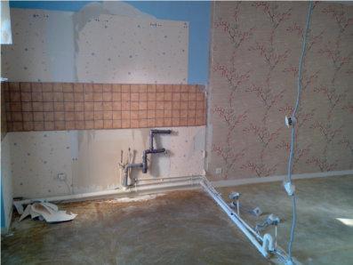 demolition en cours
