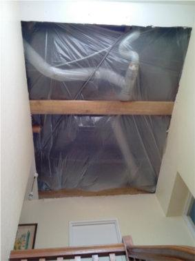 menuisier tremie plafond