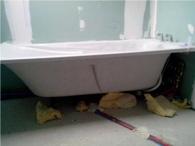 nouvelle baignoire